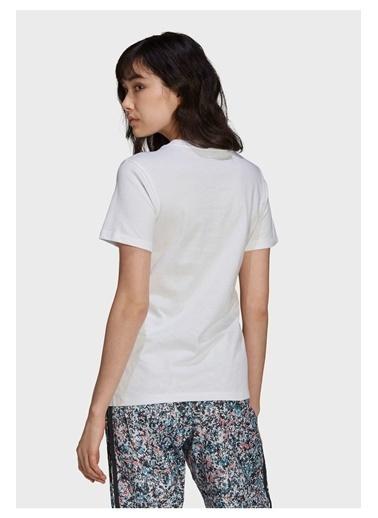adidas Adidas Kadın Günlük T-Shirt Gn3042 Beyaz